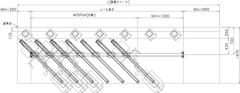 下段平面図(ATG-2A型)