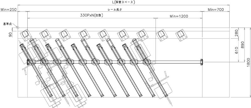 下段平面図(ATG-AB型)