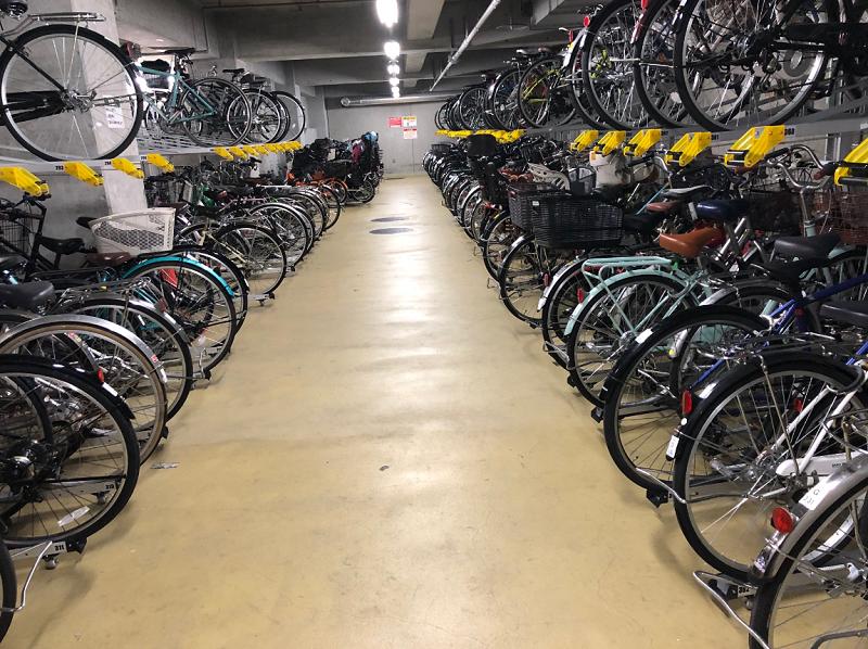 けやきひろば自転車駐車場①