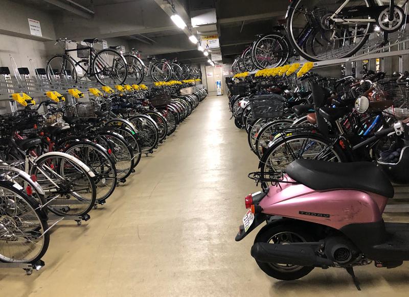 けやきひろば自転車駐車場②