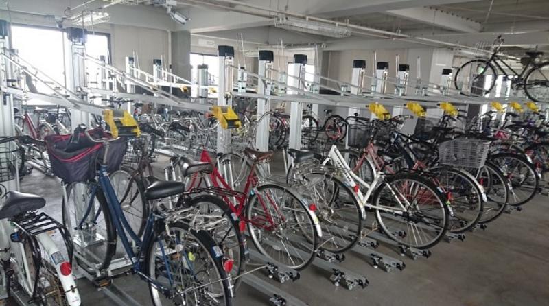 大和田駅自転車駐車場②